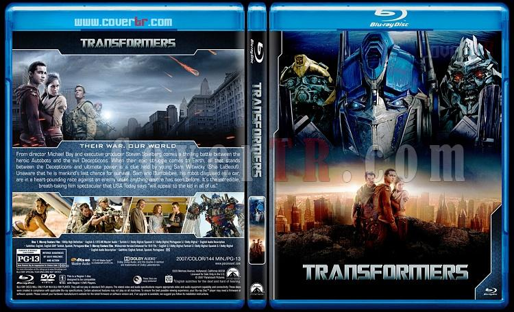 Transformers Collection + Bumblebee - Custom Bluray Cover Set - English [2007-2019]-1jpg
