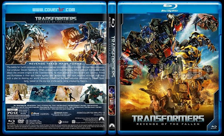 Transformers Collection + Bumblebee - Custom Bluray Cover Set - English [2007-2019]-2jpg