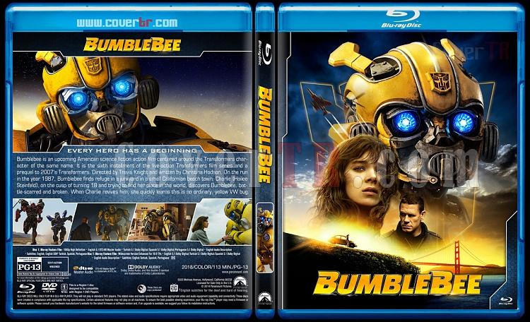 Transformers Collection + Bumblebee - Custom Bluray Cover Set - English [2007-2019]-6jpg