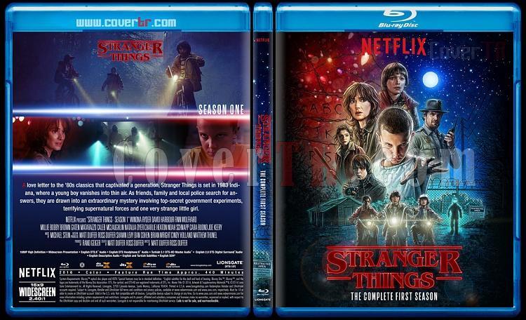 Stranger Things (Seasons 1-3) - Custom Bluray Cover Set - English [2016-2019]-1jpg
