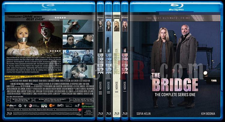 The Bridge - Bron/Broen (Seasons 1-4) - Custom Bluray Cover Set - English [2011-2018]-bron-broenjpg