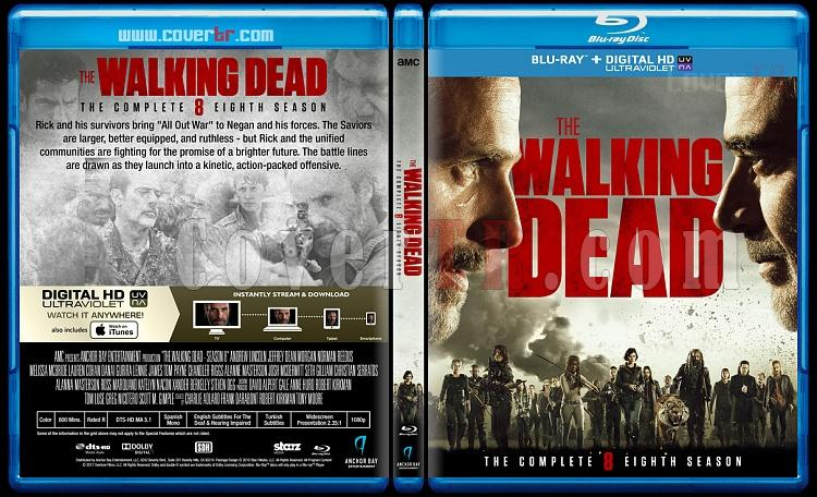 The Walking Dead (Season 8) - Custom Bluray Cover - English [2017-2018]-1jpg