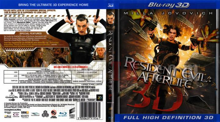 RESİDENT EVİL AFTERLİFE 3D VE Resident Evil görseldeki sony COVER-resident-evil-afterlife-3d-2010-front-cover-54874jpg