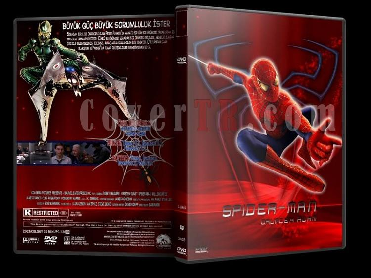 Spider-Man - DVD Cover Set [Tamamlandı]-s1jpg