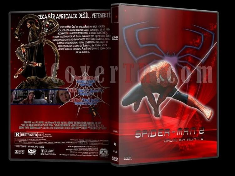 Spider-Man - DVD Cover Set [Tamamlandı]-s2jpg