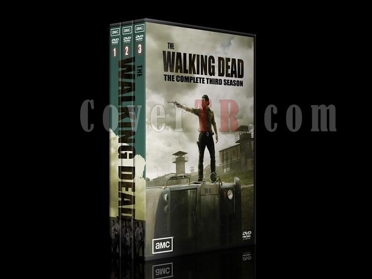 The Walking Dead (Yürüyen Ölüler) - DVD Cover Set [TR / ENG] - Deneme-100jpg