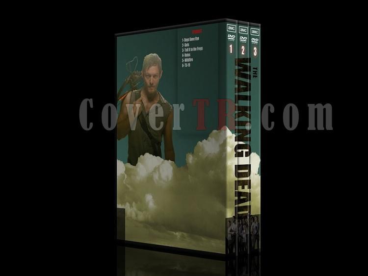 The Walking Dead (Yürüyen Ölüler) - DVD Cover Set [TR / ENG] - Deneme-101jpg