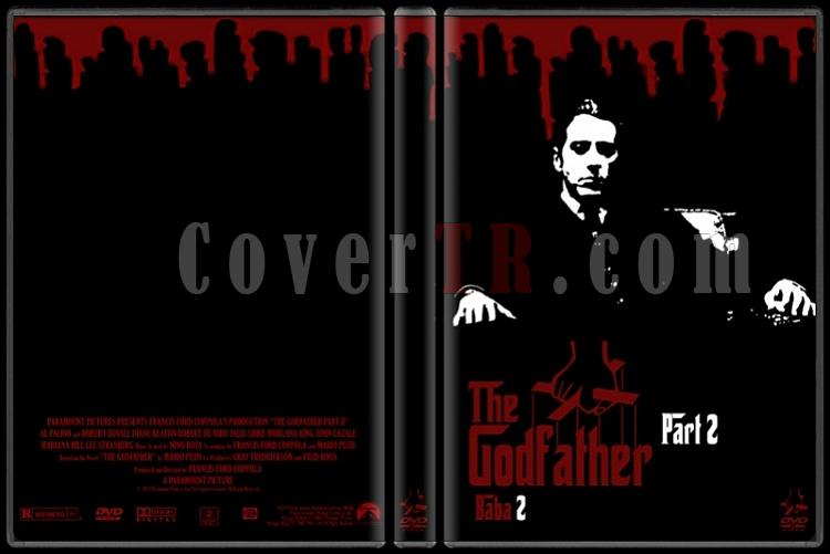 The Godfather (Baba) Collection - DVD Cover Set - Deneme-002jpg