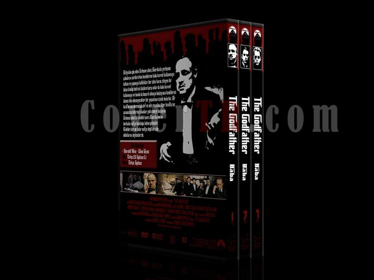 The Godfather (Baba) Collection - DVD Cover Set - Deneme-1000jpg