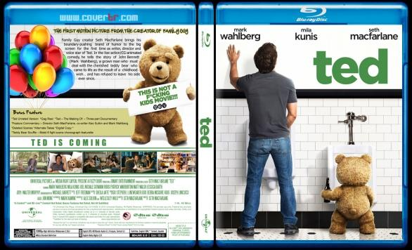 Ted  (Ayı Teddy) - Custom Bluray Cover - English [2012]-tedjpg