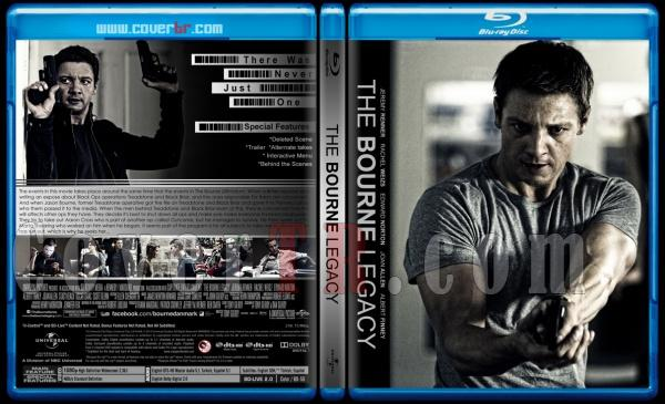 The Bourne Legacy (Bourne'un Mirası) - Custom Bluray Cover - English [2012]-engjpg