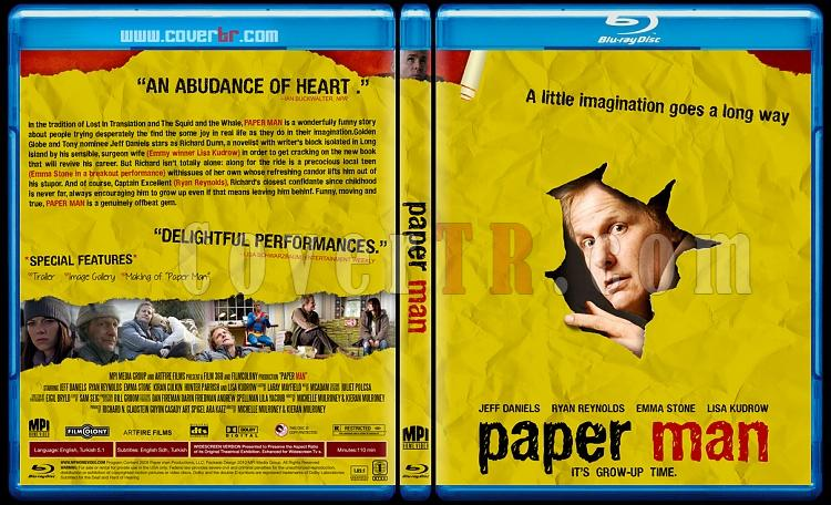 Paper Man (Karton Adam) - Custom Dvd Cover - English [2009]-paper-manjpg