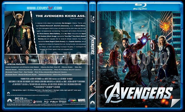 Avengers  (Yenilmezler) - Custom Bluray Cover - English [2012]-avengers-brjpg