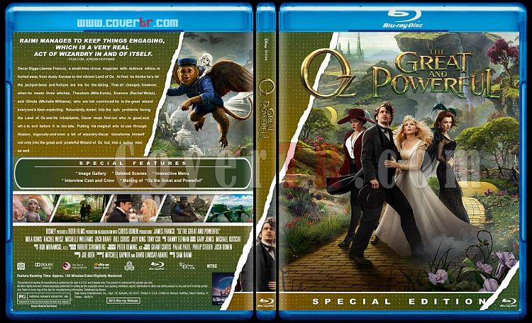 Oz the Great and Powerful (Muhteşem ve Kudretli Oz) - Custom Bluray Cover - English [2013]-great-powerful-objpg