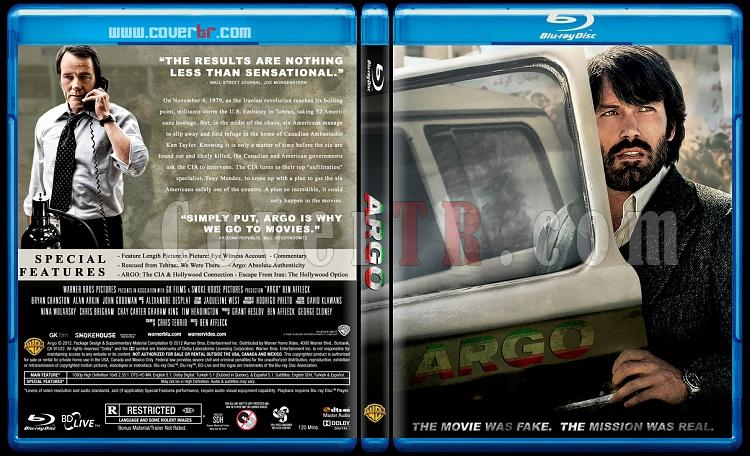 Argo (Operasyon: Argo) - Custom Bluray Cover - English [2012]-argojpg