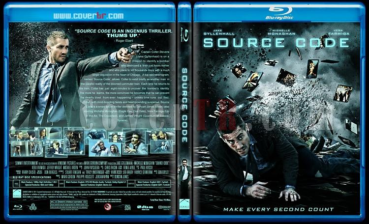 Source Code (Yaşam Şifresi) - Custom Bluray Cover - English [2011]-source-code-bestjpg