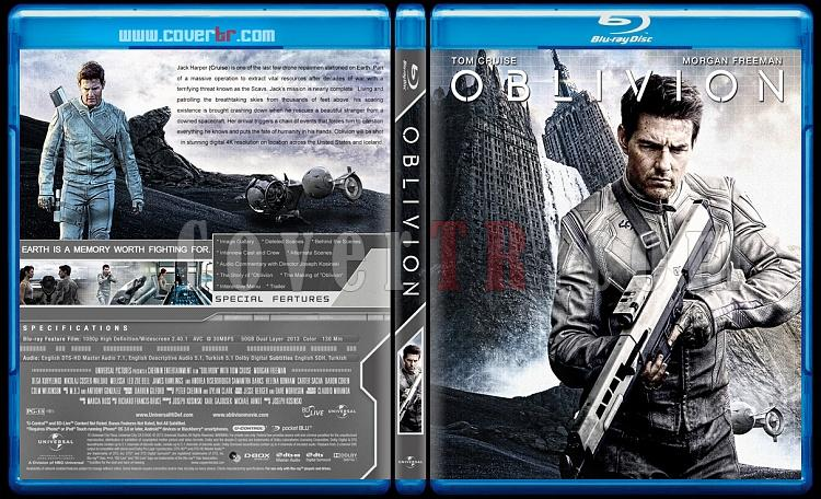 Oblivion  - Custom Bluray Cover - English [2013]-oblivionjpg
