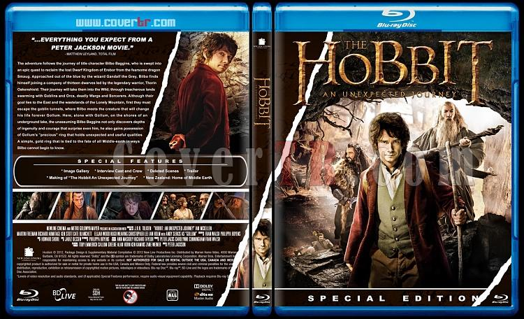 The Hobbit: An Unexpected Journey (Hobbit Beklenmedik Yolculuk) - Custom Bluray Cover - English [2012]-hobbitjpg