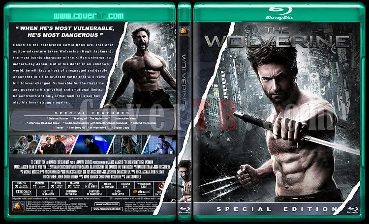 The Wolverine  - Custom Bluray Cover - English [2013]-wolverinejpg