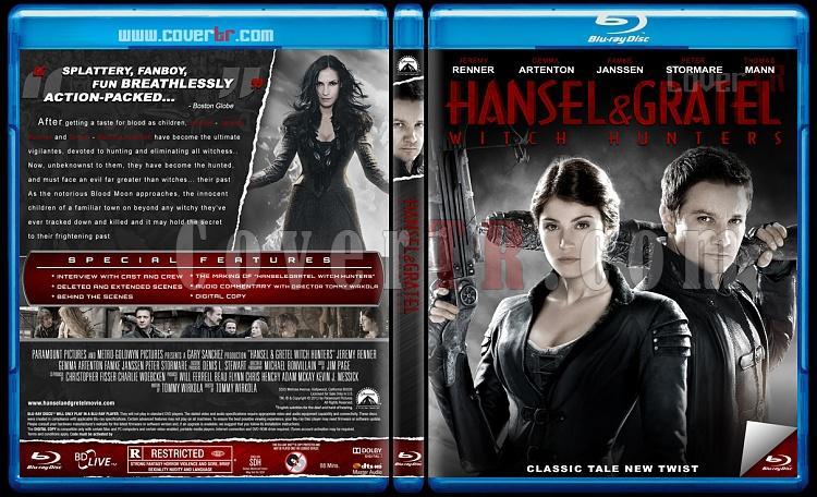 Hansel and Gretel Witch Hunters (Hansel Ve Gretel Cadı Avcıları) - Custom Bluray Cover - English [2013]-dadsajpg