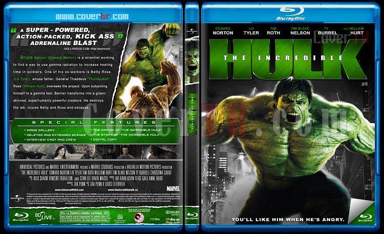 The Incredible Hulk  - Custom Bluray Cover - English [2008]-hulk-cover-izlemejpg