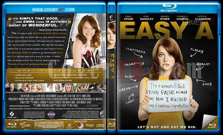 Easy A  - Custom Bluray Cover - English [2010]-easy-bluray-izlemejpg