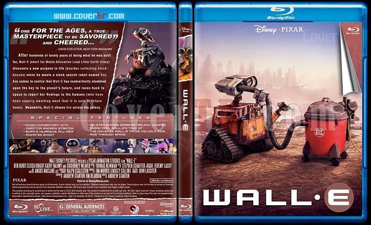 WALL·E - Custom Bluray Cover - English [2008]-wall-e-onizlemejpg