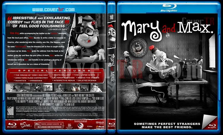 Mary and Max - Custom Bluray Cover - English [2009]-blu-ray-1-disc-flat-3173x1762-11mmjpg