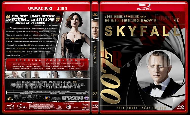 Skyfall - Custom Bluray Cover - English [2012]-1jpg