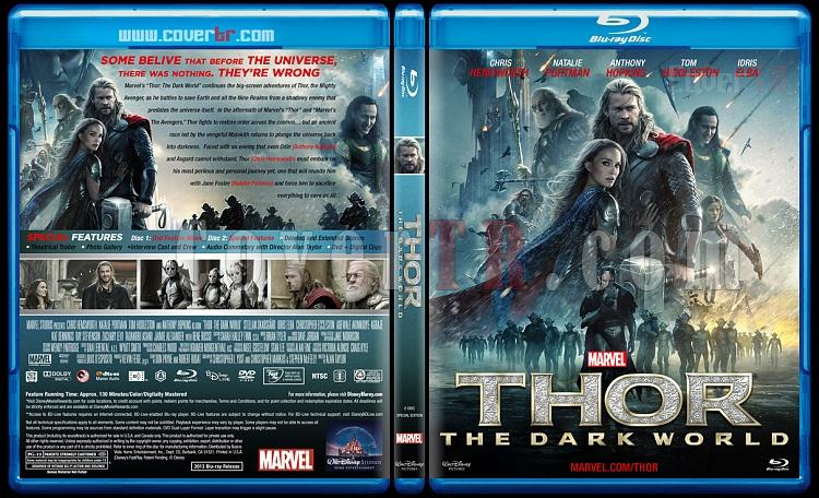Thor: The Dark World (Thor: Karanlık Dünya) - Custom Bluray Cover - English [2013]-thor-dark-world-thor-karanlik-dunya-bluray-cover-english-riddick-izlemejpg
