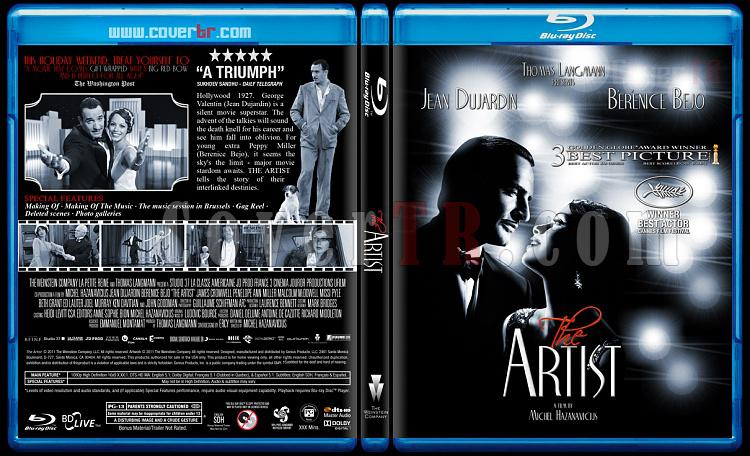 The Artist - Custom Bluray Cover - English [2011]-artist-custom-bluray-coverjpg