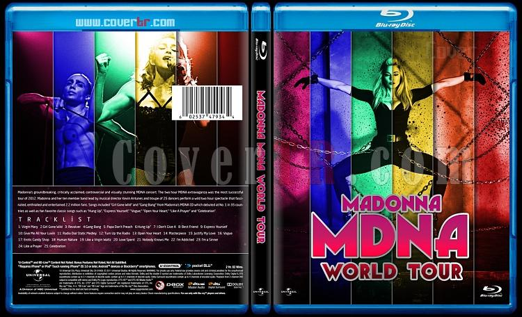 Madonna The MDNA Tour - Custom Bluray Cover - English [2013]-izlemejpg