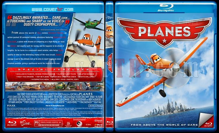 Planes (Uçaklar) - Custom Bluray Cover - English [2013]-planesjpg
