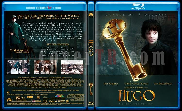 Hugo - Custom Bluray Cover - English [2011]-hugo-blu-rayprewjpg