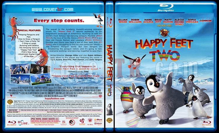 Happy Feet Two (Neşeli Ayaklar 2) - Custom Bluray Cover - English [2011]-hf2-blu-rayprewjpg