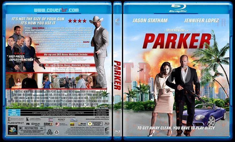 Parker - Custom Bluray Cover - English [2013]-parker-blu-rayprewjpg