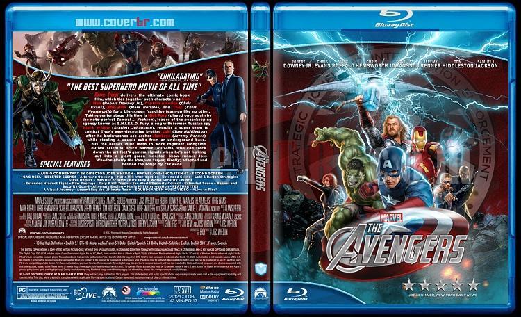 The Avengers (Yenilmezler) - Custom Bluray Cover - English [2012]-avengers-blu-rayprewjpg