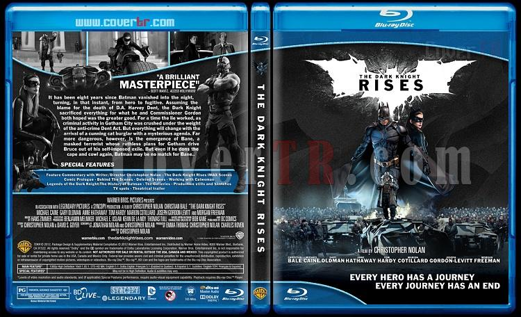 The Dark Knight Rises (Kara Şövalye Yükseliyor) - Custom Bluray Cover - English [2012]-dark-knight-rises-blu-rayprewjpg