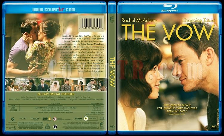 The Vow  (Aşk Yemini) - Custom Bluray Cover - English [2012]-vowjpg
