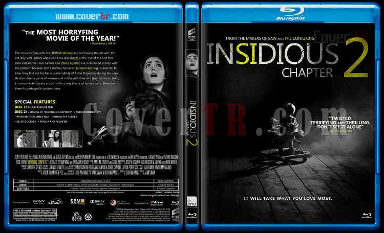 Insidious 2 - Custom Bluray Cover - English [2013]-2jpg