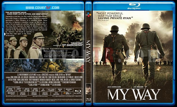 My Way - Custom Bluray Cover - English [2011]-my-wayjpg