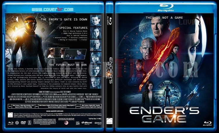 Ender's Game - Custom Bluray Cover - English [2013]-blu-ray-1-disc-flat-3173x1762-11mmjpg