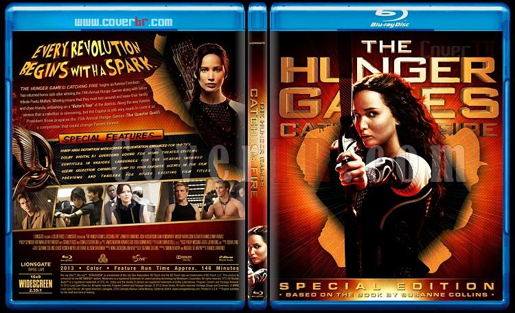 The Hunger Games: Catching Fire (Açlık Oyunları: Ateşi Yakalamak) - Custom Bluray Cover - English [2013]-blu-ray-1-disc-flat-3173x1762-11mmjpg