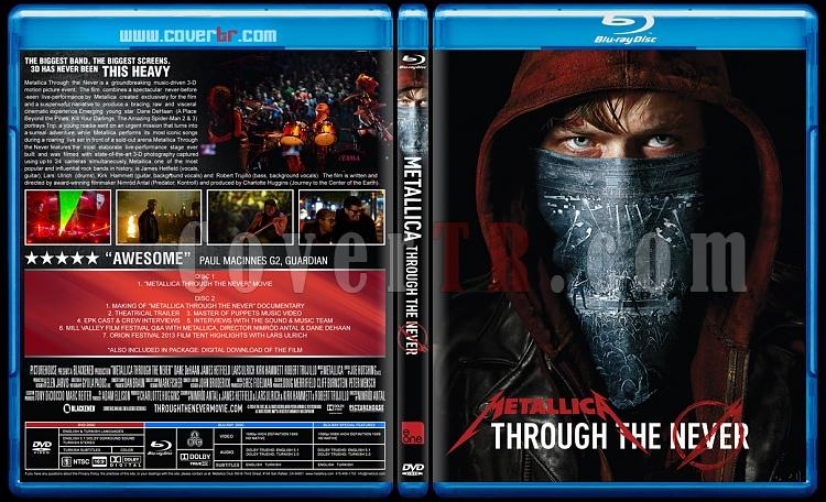 Metallica - Through The Never - Custom Bluray Cover - English [2013]-metaljpg