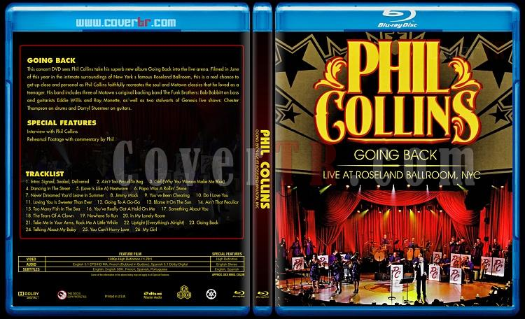 Phil Collins - Going Back: Live At Roseland Ballroom, NYC - Custom Bluray Cover - English [2010]-blu-ray-1-disc-flat-3173x1762-11mmjpg