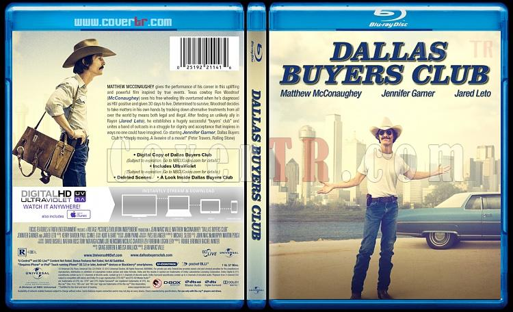 Dallas Buyers Club - Custom Bluray Cover - English [2013]-blu-ray-1-disc-flat-3173x1762-11mmjpg