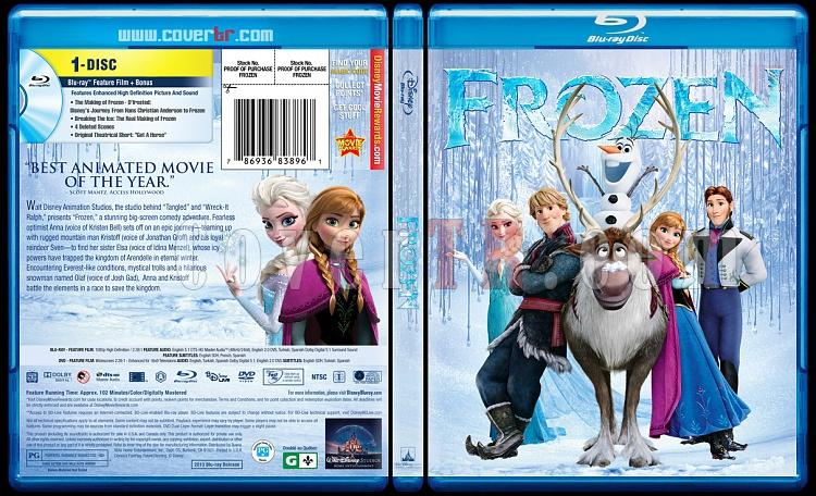 Frozen (Karlar Ülkesi) - Custom Bluray Cover - English [2013]-blu-ray-1-disc-flat-3173x1762-11mmjpg