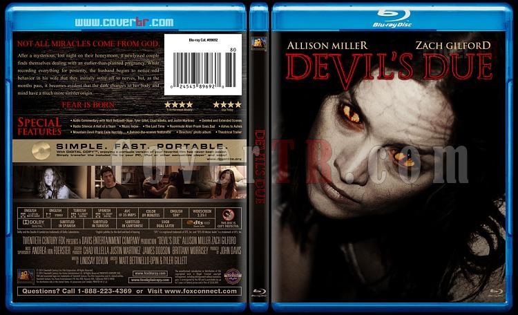 Devil's Due (Şeytanın Tohumu) - Custom Bluray Cover - English [2014]-blu-ray-1-disc-flat-3173x1762-11mmjpg