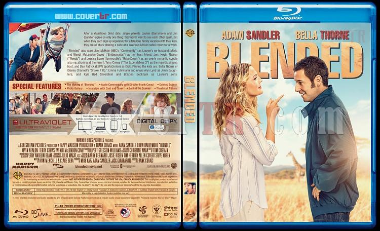 Blended - Custom Bluray Cover - English [2014]-blendedjpg