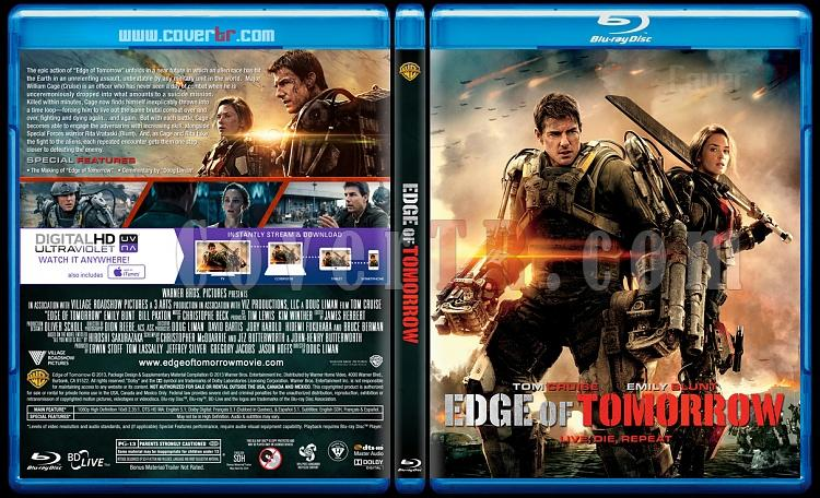Edge of Tomorrow - Custom Bluray Cover - English [2014]-edge-tomorrowjpg